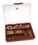 Product image for Self colour brass full nut kit