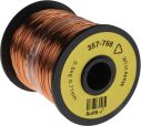 Product image for Insulated copper wire,21awg 120m