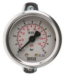 Product image for Panel mount pressure gauge,0-10bar G1/8B
