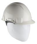 Product image for 3M PELTOR G3000 Adjustable White Hard Hat, Ventilated