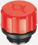 Product image for 16MM THREAD VALVE BREATHER CAP,42MM DIA