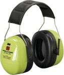 Product image for 3M PELTOR Optime Ear Defender with Headband, 35dB, Yellow