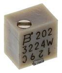 Product image for 3224W SMT top adj cermet trimmer,2K 4mm