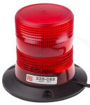 Product image for 12/24V 6W Red Xenon beacon, Magnetic