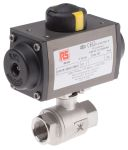 Product image for 3/4in.BSP S/Steel B/Valve w/ SR Actuator
