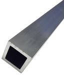Product image for Aluminium Square Tube,50mmx50mmx1m