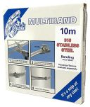 Product image for 316 STAINLESS STEEL 11MM BANDING 10M