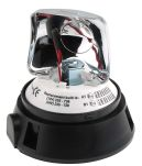 Product image for 12/24V Rotating beacon, 3 point fix