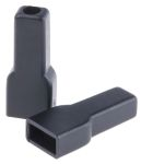 Product image for Black insul boot for 6.3mm receptacle