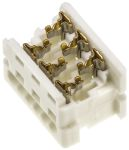 Product image for 6 way IDT housing,1.27mm pitch low prof