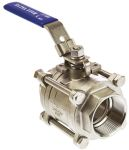Product image for 3pc Full Bore Ball Valve,2in. S/steel