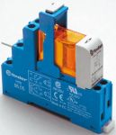 Product image for SPDT relay interface,10A 12Vdc coil