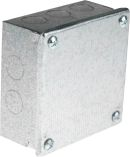 Product image for Adaptable Box 100x100x50mm PreGalvanised