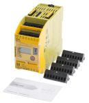 Product image for Pilz PNOZmulti 2 PNOZ m BO Series Safety Controller, 20 Safety Inputs, 4 Safety Outputs, 24 V dc