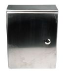Product image for RS PRO 304 Stainless Steel Wall Box, IP66, 150mm x 300 mm x 250 mm