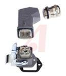 Product image for HAN 4A Kit Ang TE Metal Hood Strt Base
