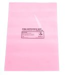Product image for Antistatic pink bag,100x155mm