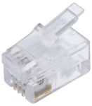 Product image for Modular Plug Short Body 4/4 RJ11 loose
