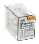 Product image for 4PDT mini plug-in relay,7A 230Vac coil