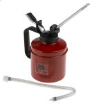 Product image for Metal Red Oil Can + Nylon Pump 500cc