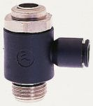 Product image for Pilot compact flow regulator,G1/4x8mm