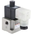 Product image for 1/4in 3/2 poppet sol/spring valve,240Vac