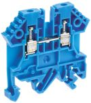 Product image for 2.5MM BLUE DIN RAIL MOUNT TERMINAL,26A