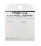 Product image for Equipment tag 'TESTED FOR ELEC SAFETY'