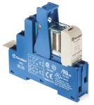 Product image for DPDT relay interface,8A 24Vdc coil