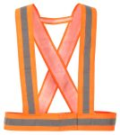 Product image for Hi Vis Body Strap Orange One Size