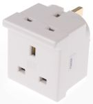 Product image for MK Electric UK to UK Travel Adapter, Rated At 13A