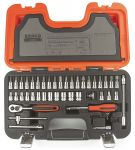 Product image for 46 piece 1/4in sq drive socket set