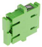Product image for SC Singlemode Duplex APC Green Adaptor