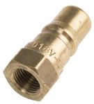Product image for Quick Connect ISO Coupling, 1/8in Male