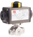 Product image for 1/2 in. 3 Way Ball Valve