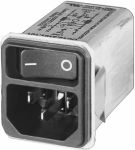 Product image for IEC INLET W/2P SWITCH,4A W/FILTER