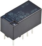 Product image for PCB RELAY,DPDT,1XLATCH, 2.5KV 2A 12VDC