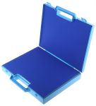 Product image for Blue storage case w/handle,320x245x50mm