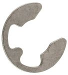 Product image for E type s/steel circlip,15.0mm groove