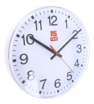 Product image for Silent second hand wall clock,300mm dia