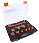 Product image for RS PRO 12 Piece Socket Set, 1/2 in Insulated Square Drive