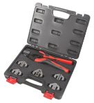 Product image for RS PRO Plier Crimping Tool, 0.1mm² to 10mm²