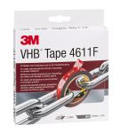 Product image for 3M 4611 ACRYLIC FOAM TAPE GRAY 19MM X 3M