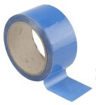 Product image for Identification tape,Air-blue 50mmx33m