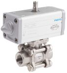 Product image for Festo Pneumatic 2 port Actuated Ball Valve - Single Acting