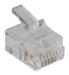 Product image for 6 way 6 contact modular data plug