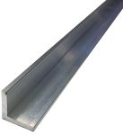 Product image for 6082T6 Aluminium Angle,25mmx25mmx3mmx1m