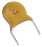 Product image for Ceramic disc capacitor class 1 1KV 120pF