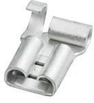 Product image for NON-INSULATED FLAG FEMALE DISCONNECTORS