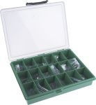 Product image for Black steel grub screw kit